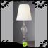 EME LIGHTING black colored table lamp flower pattern for restaurant