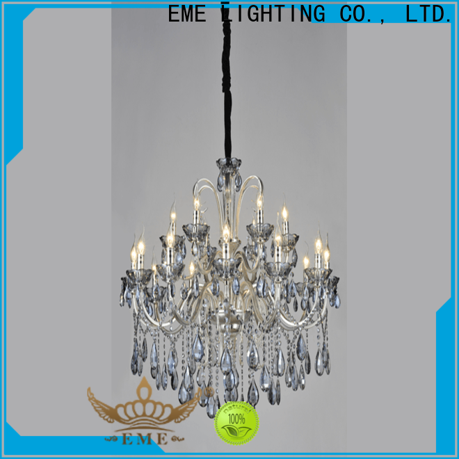 EME LIGHTING round large chandeliers bulk production for lobby