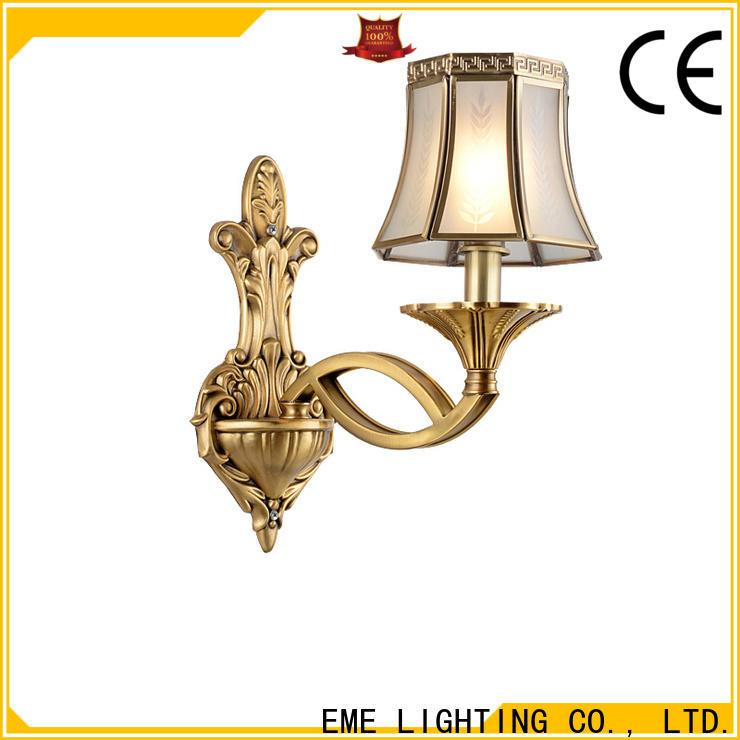 EME LIGHTING vintage gold sconces top brand for indoor decoration