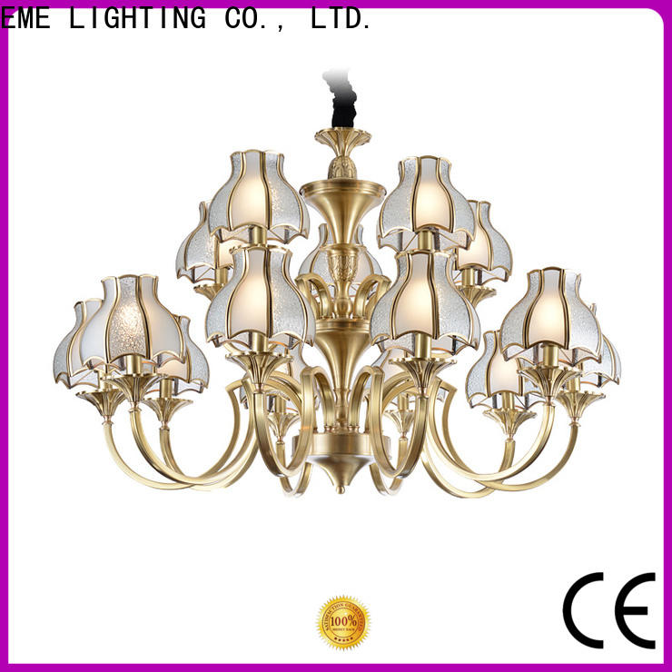 EME LIGHTING american style solid brass chandelier residential for dining room