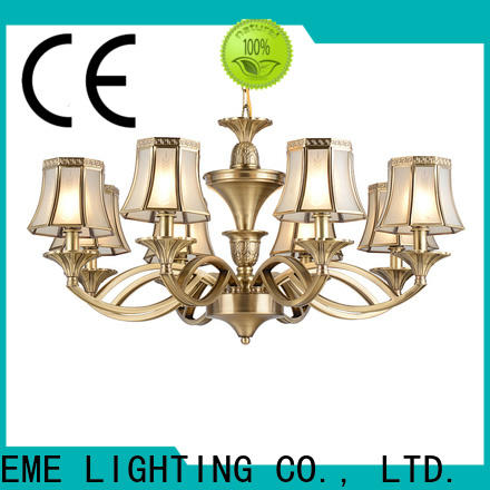 EME LIGHTING large antique copper pendant light unique for home