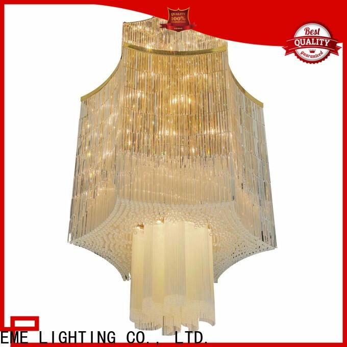 EME LIGHTING decorative acrylic crystal chandelier wholesale on-sale for lobby
