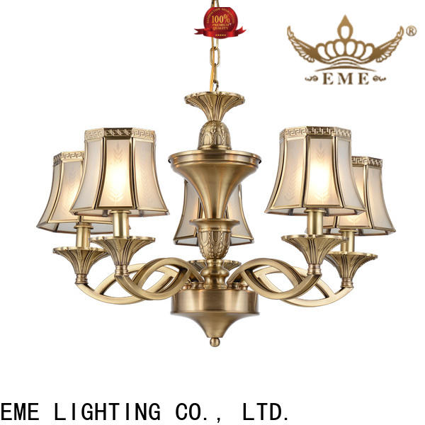 concise modern brass chandelier american style traditional