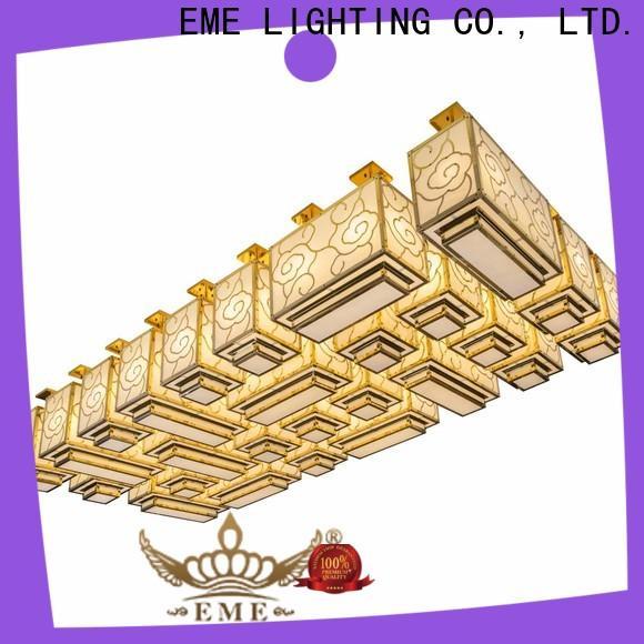 EME LIGHTING modern vintage crystal chandelier European style for lobby