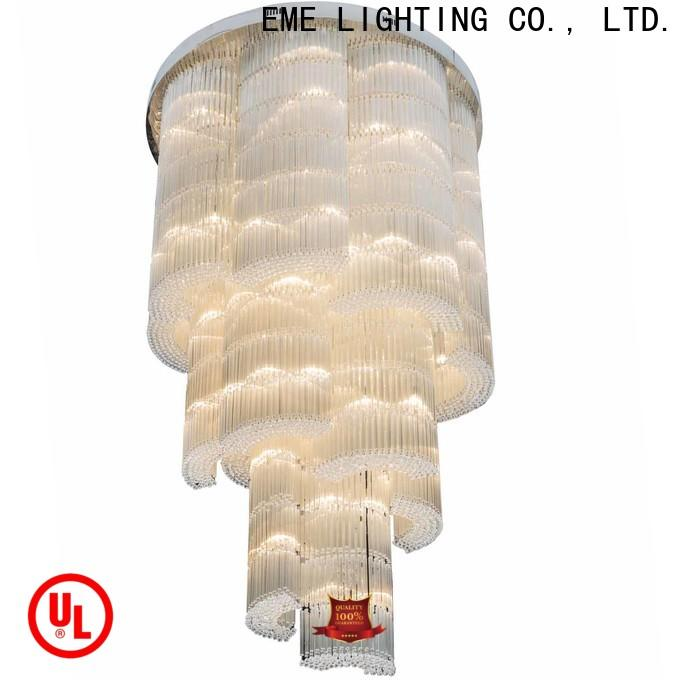 EME LIGHTING round dining room chandelier bulk production for lobby