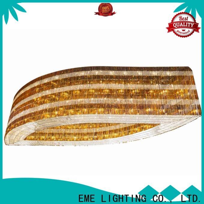EME LIGHTING modern gold crystal chandelier European style for dining room