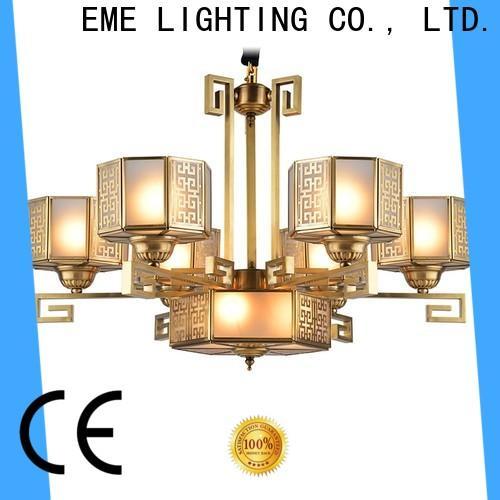 modern solid brass chandelier copper unique