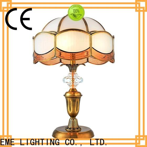 elegant glass table lamps for living room decorative bulk production for bedroom