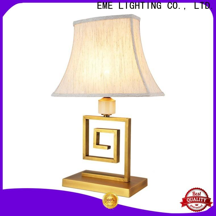 EME LIGHTING vintage colored table lamp antique for restaurant