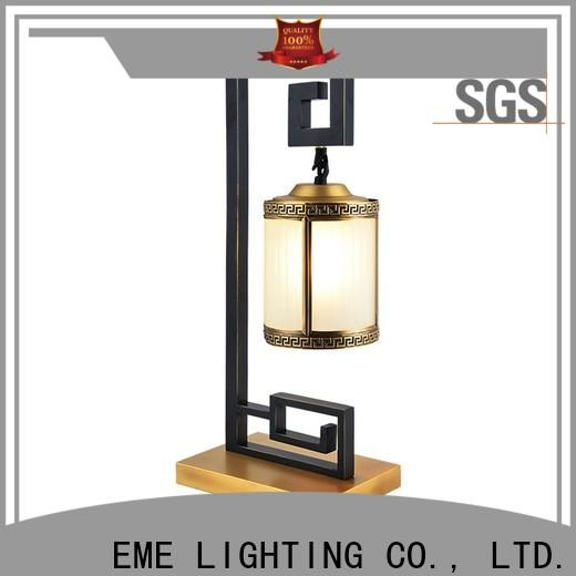 EME LIGHTING luxury decorative cordless table lamps colored for restaurant