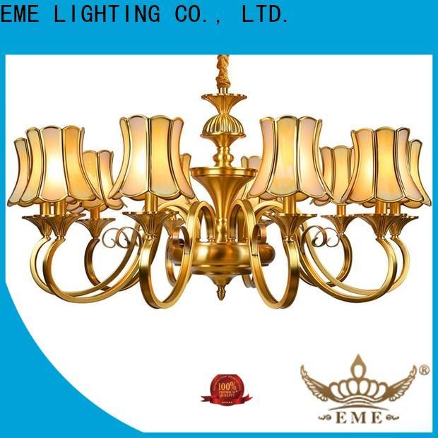 modern solid brass chandelier large European for big lobby