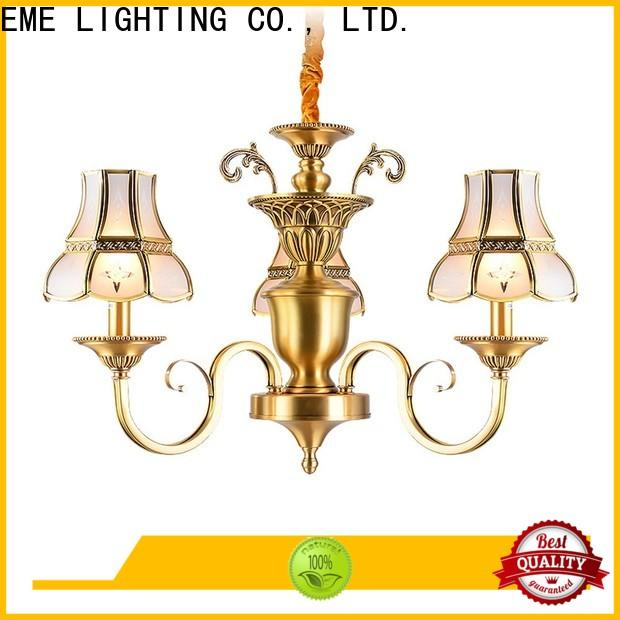 EME LIGHTING copper solid brass chandelier traditional for home