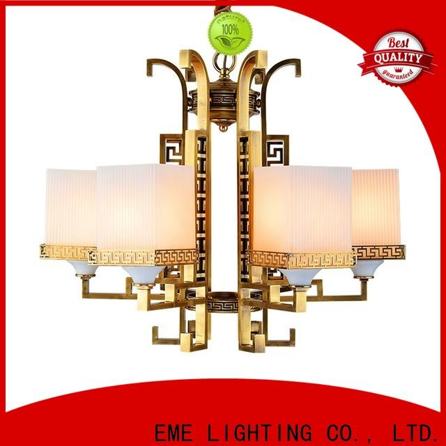 EME LIGHTING contemporary chandelier over dining table traditional for big lobby