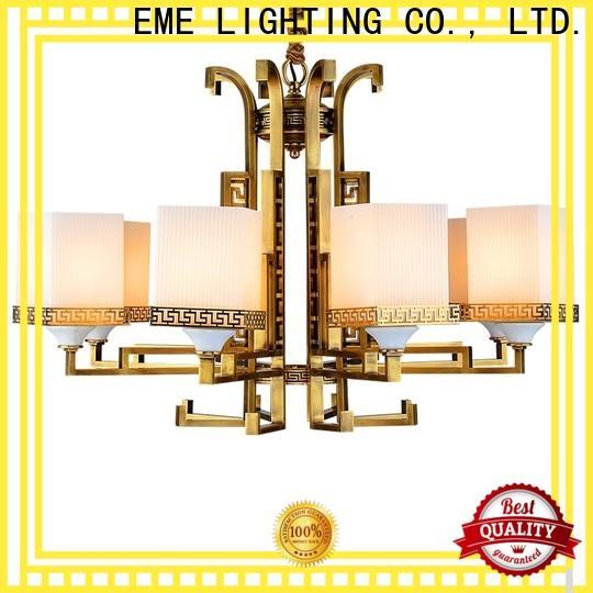 EME LIGHTING antique modern brass chandelier unique for big lobby