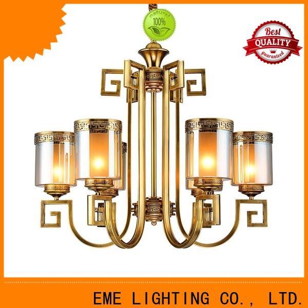 modern modern brass chandelier copper European for big lobby