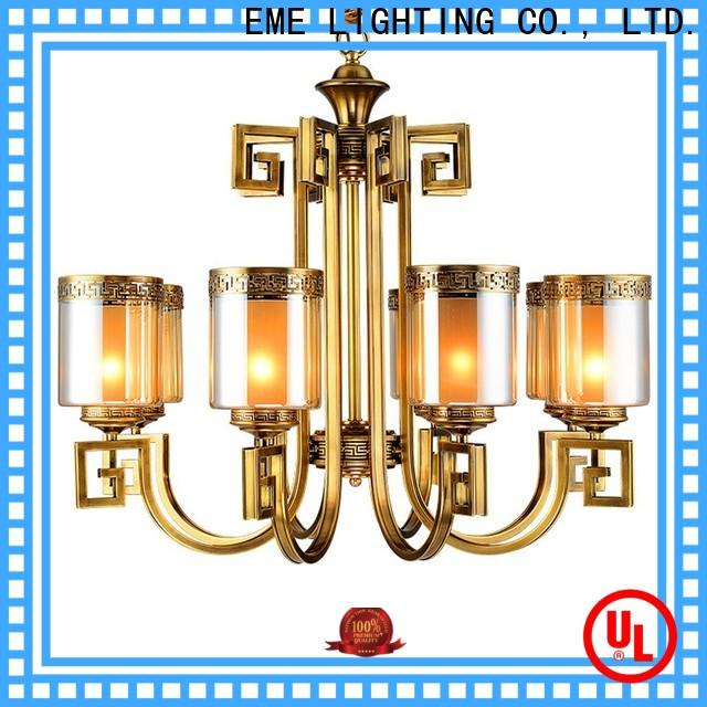 EME LIGHTING american style solid brass chandelier traditional for dining room