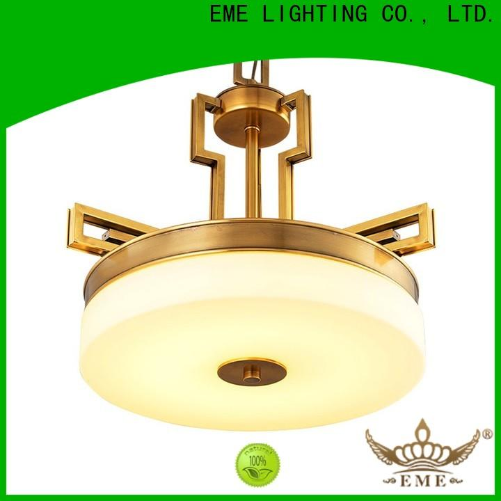 EME LIGHTING large antique copper pendant light unique