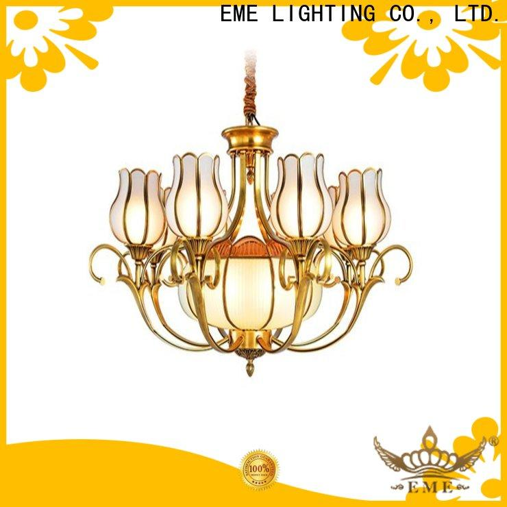 EME LIGHTING copper restaurant chandeliers vintage for big lobby