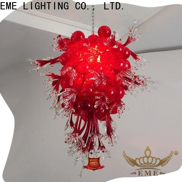 EME LIGHTING red restaurant pendant light pure white for hall