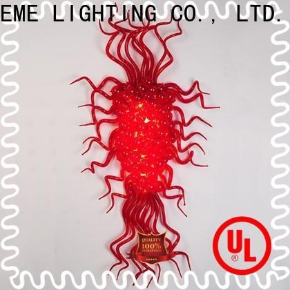 EME LIGHTING colored coral restaurant lighting design pure white for hobby