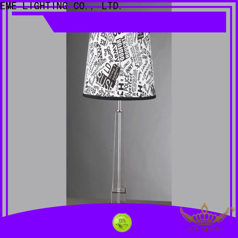 EME LIGHTING contemporary glass table lamps for bedroom bulk production for room