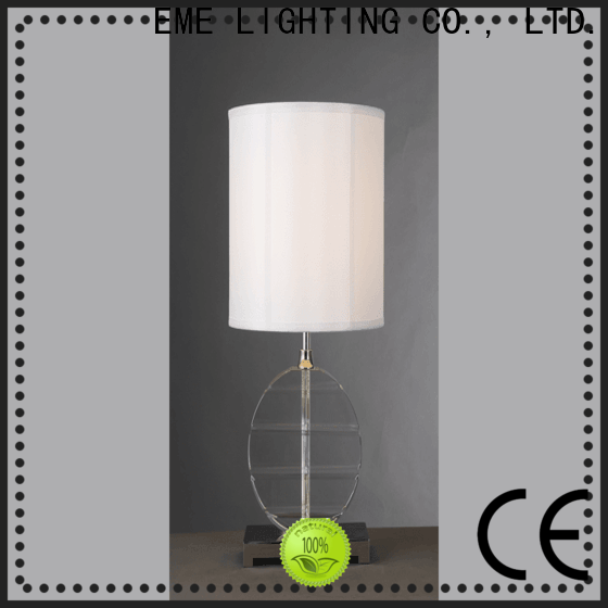 EME LIGHTING elegant glass table lamps for bedroom bulk production for study