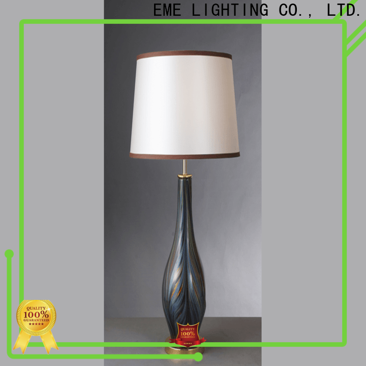 vintage colored table lamp luxury colored for hotels