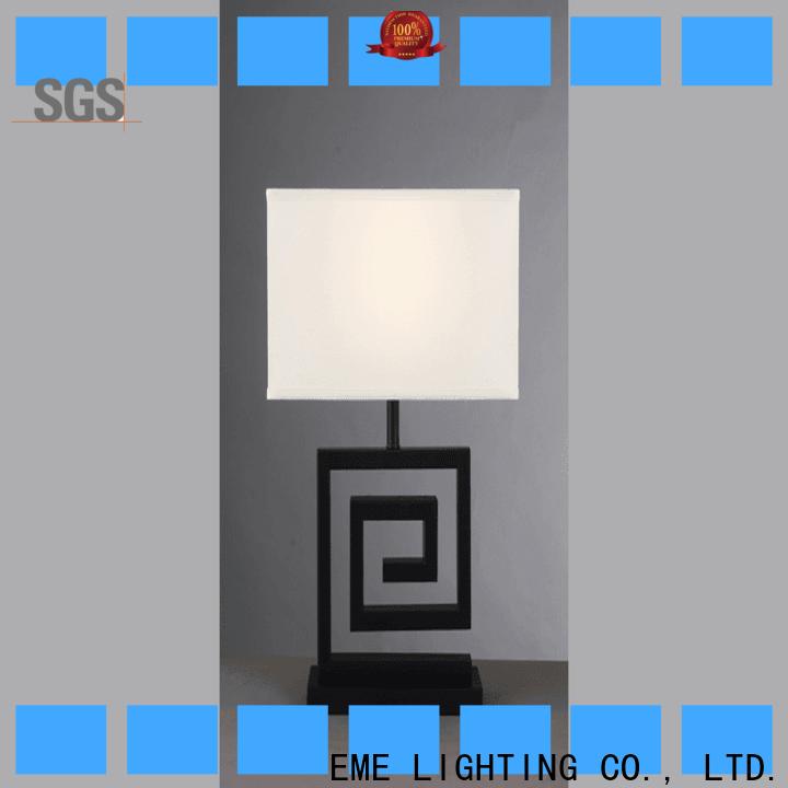 EME LIGHTING elegant western table lamps brass material for house