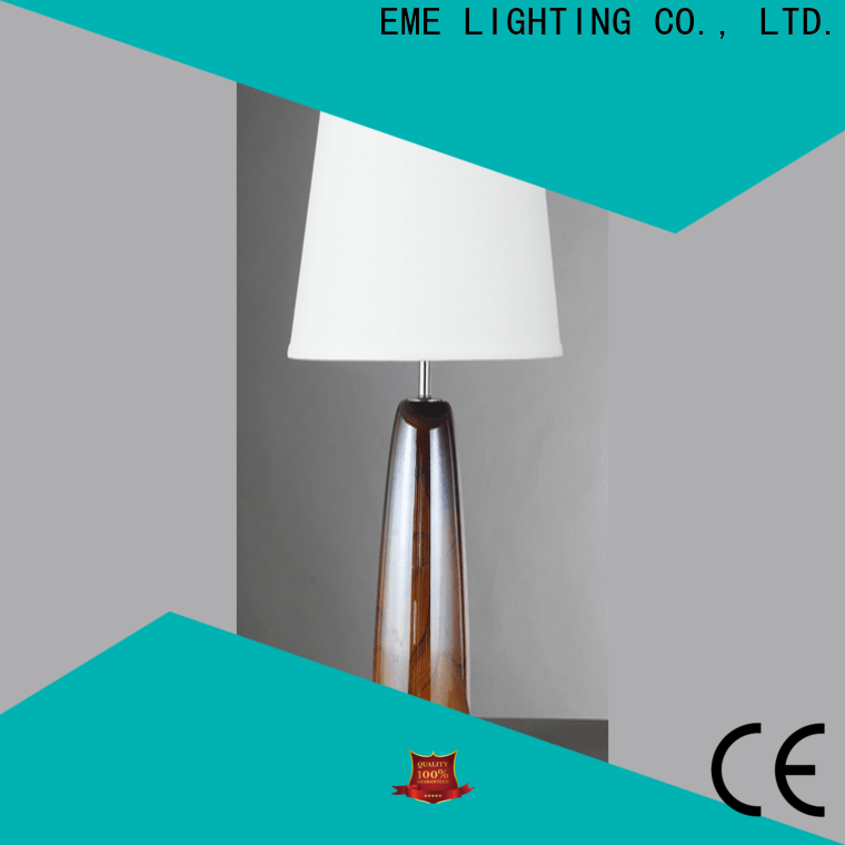EME LIGHTING contemporary glass table lamps for bedroom cheap for restaurant