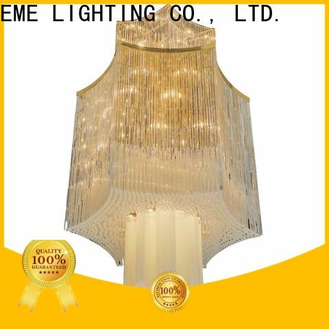 EME LIGHTING customized gold crystal chandelier at discount for lobby