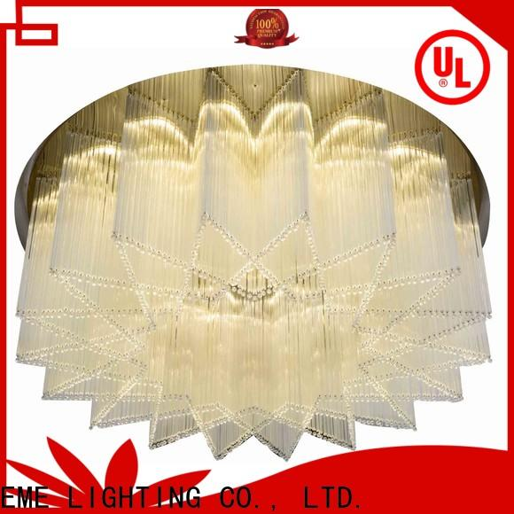 EME LIGHTING round round crystal chandelier latest design for dining room
