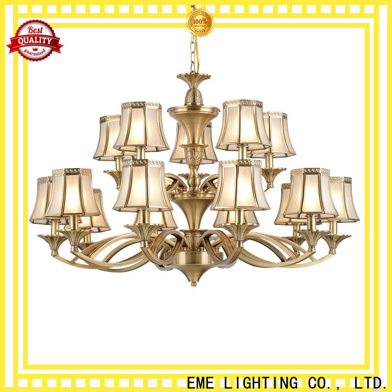 EME LIGHTING american style antique copper pendant light residential for home