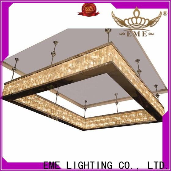 EME LIGHTING acrylic Luxury Chandeliers European style for lobby