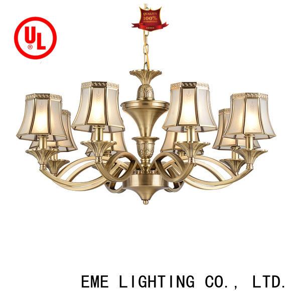 EME LIGHTING large solid brass chandelier European for big lobby