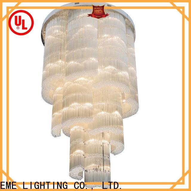 traditional custom crystal chandeliers modern bulk production for lobby