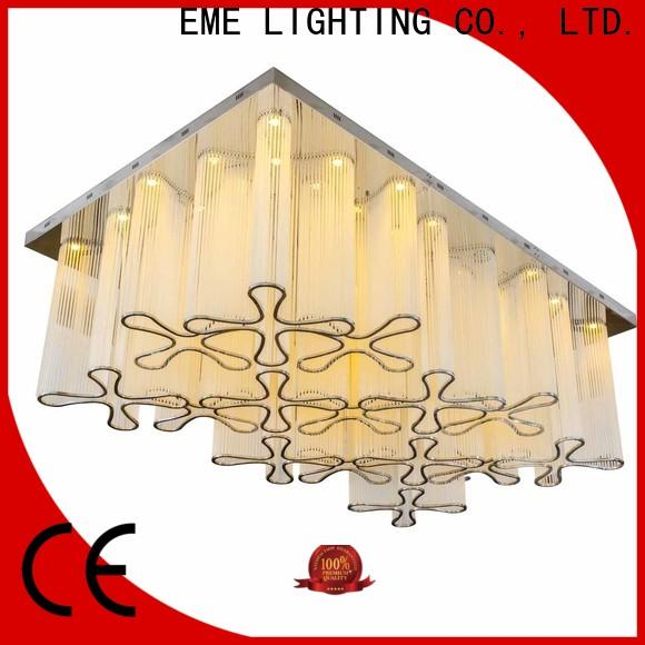 EME LIGHTING round crystal drop chandelier for dining room