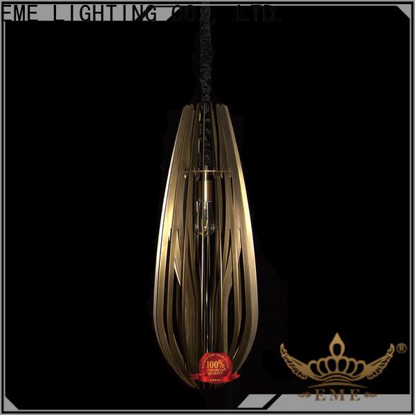 EME LIGHTING elegant cylinder pendant light supplier for rest room