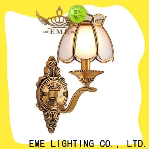 EME LIGHTING copper unusual wall lights ODM for indoor decoration
