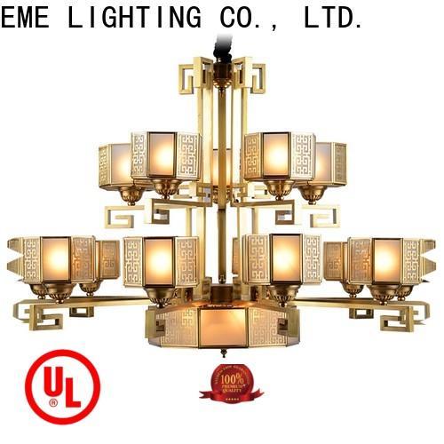 EME LIGHTING copper restaurant chandeliers residential for big lobby