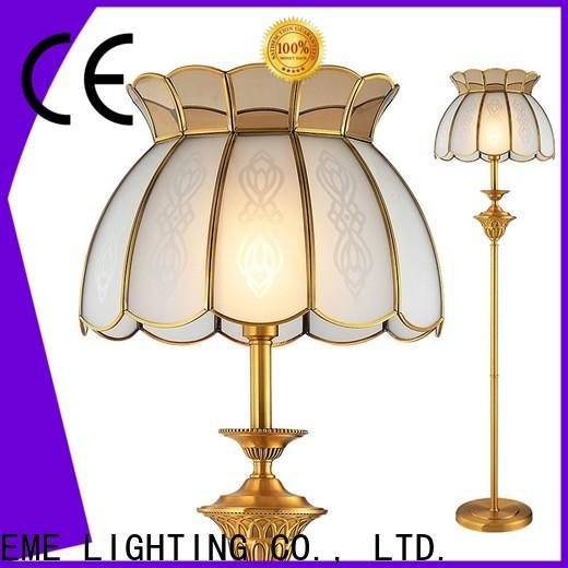 EME LIGHTING copper standing floor lamps fancy for bedroom