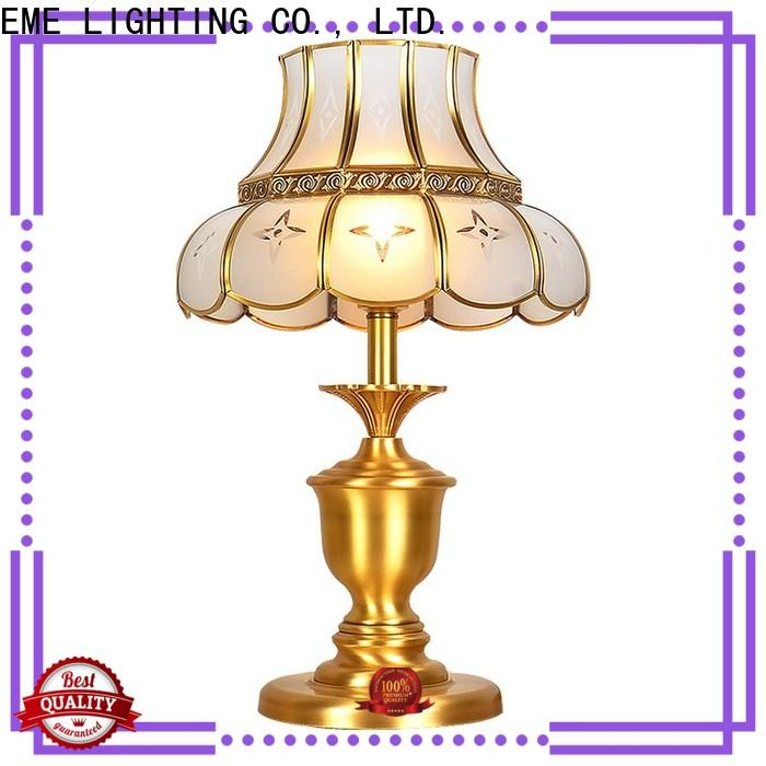 EME LIGHTING decorative glass table lamps for living room factory price for house