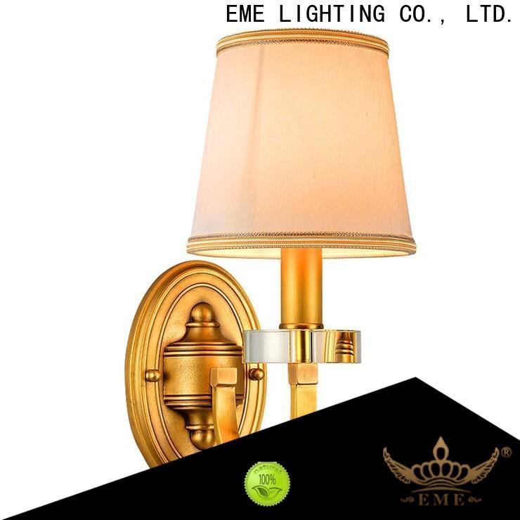 EME LIGHTING vintage sconce lights free sample for indoor decoration
