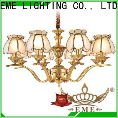EME LIGHTING copper solid brass chandelier European