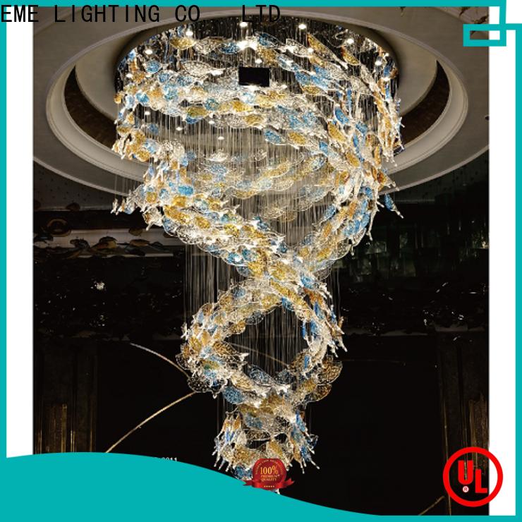 modern chandelier lights custom color latest design for lobby
