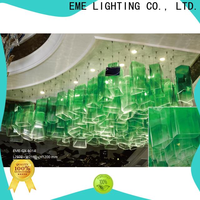 EME LIGHTING large modern chandeliers for lobby