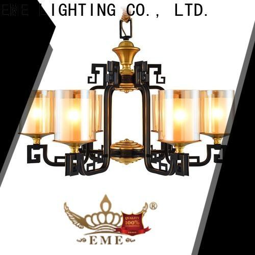 EME LIGHTING luxury solid brass chandelier European for home