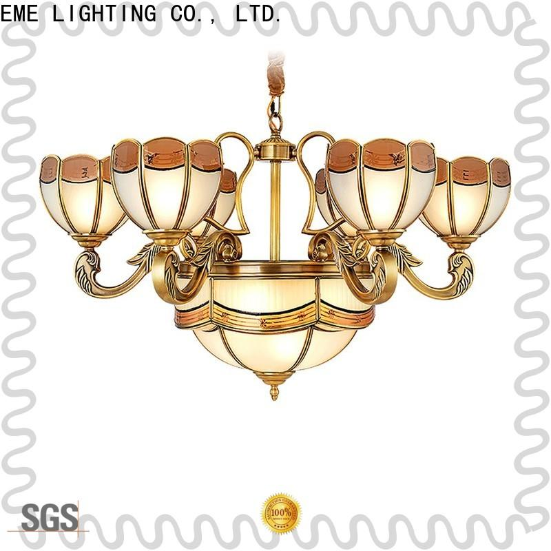 EME LIGHTING luxury solid brass chandelier unique for dining room