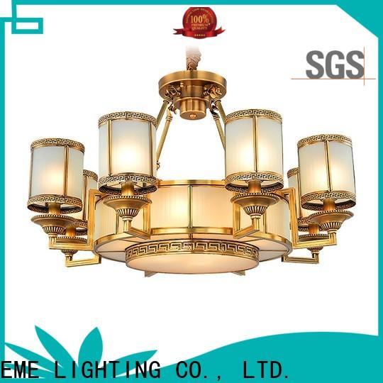 EME LIGHTING american style modern brass chandelier European for home