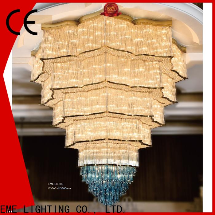 customized european style chandelier modern bulk production for dining room