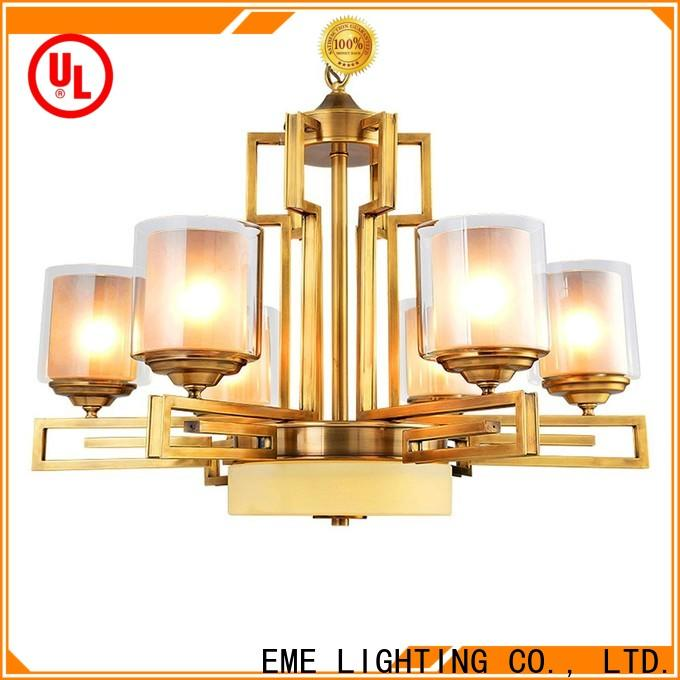 EME LIGHTING decorative antique copper pendant light unique for dining room